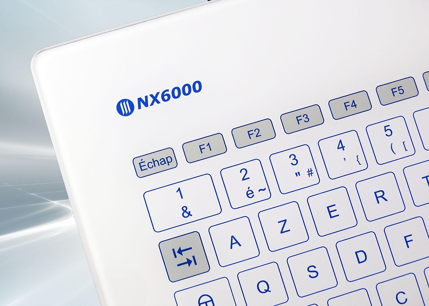 Clavier verre tactile intégrable en panneau – NX6000