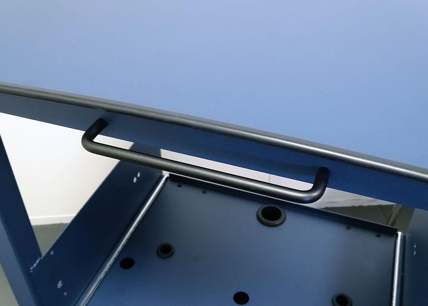 NX557 – Chariot mécano-soudé – Détail poignée