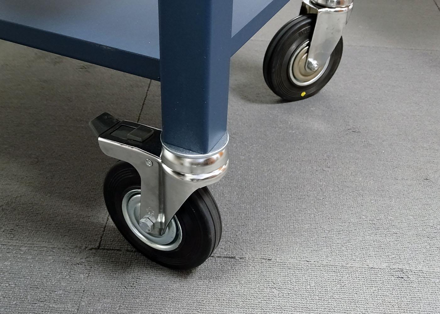 NX557 – Chariot mécano-soudé – Détail roues