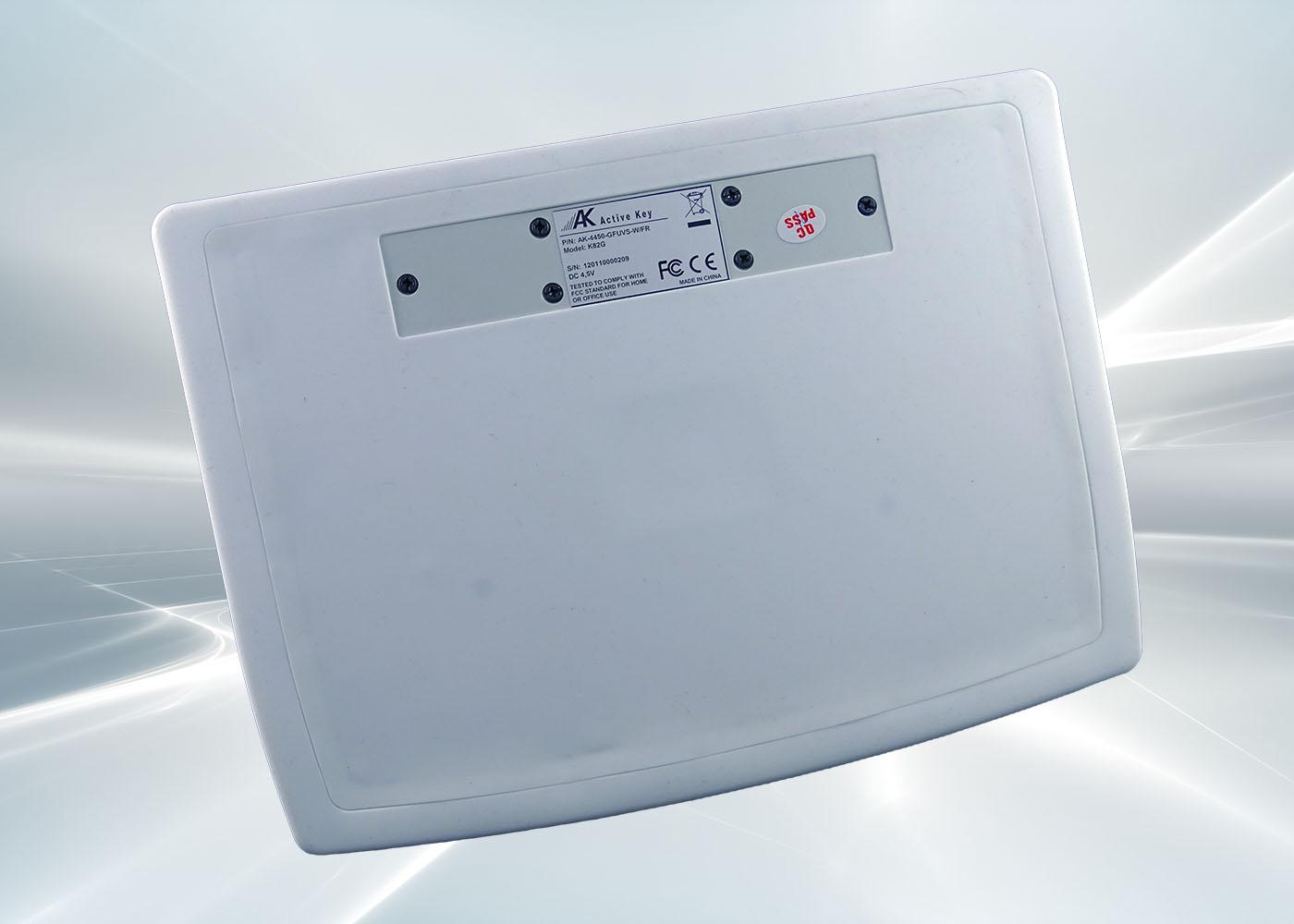 Clavier sans fil nettoyable pour applications médicales – Vue de derrière