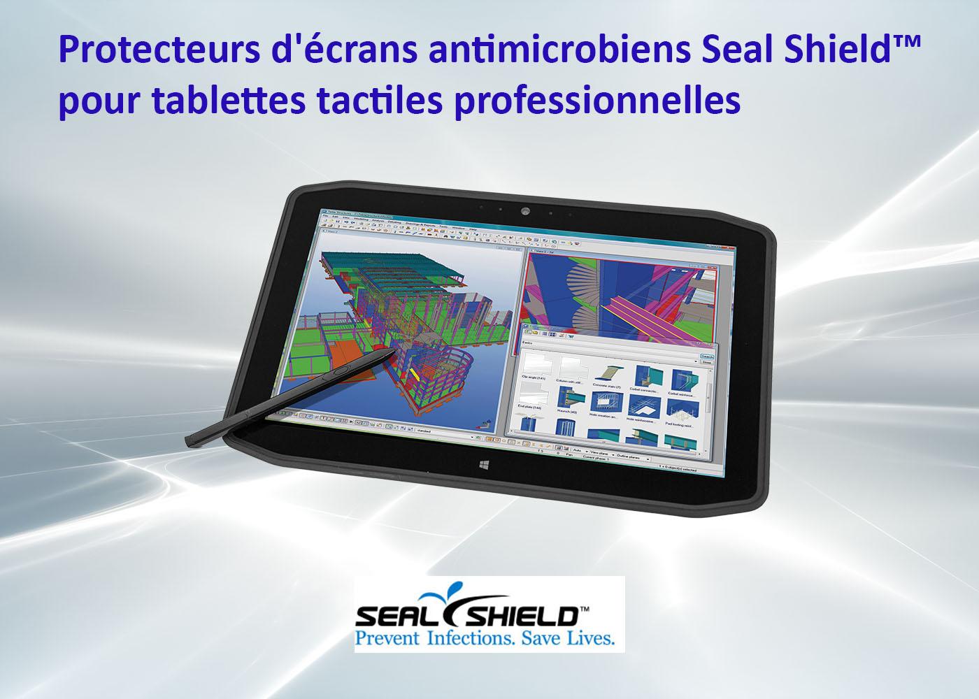 Film de protection pour tablettes tactiles professionnelles