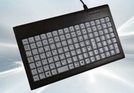 Clavier semi-industriel 112 touches course longue marqué avec Hub USB