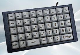NX5180 – Clavier industriel 43 touches en boitier de table