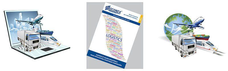 Catalogue claviers logistiques embarqués