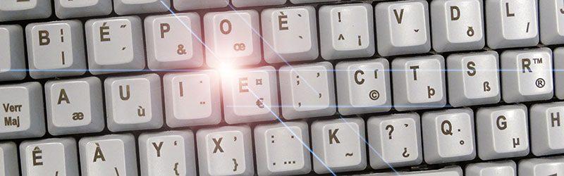 NICONIX annonce le premier clavier BÉPO durci