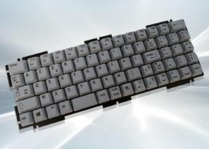 Clavier industriel compact intégrable par l'arrière 71 touches - Série NX5600