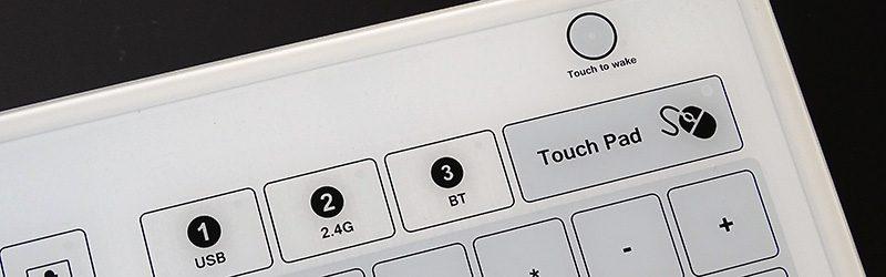 Clavier tactile sans fil pour zones aseptiques sensibles