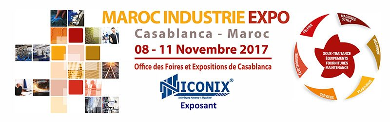 Niconix exposant Maroc Industrie Expo (Midest Maroc)