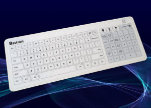 B45 : Le clavier tactile sans fil étanche IP67 avec un touchpad XXL - Clavier capacitif en verre tri-interfaces (USB, RF 2,4 Ghz, Bluetooth®) - Vue d'ensemble