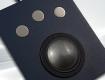 Souris trackball intégrable avec boule 50 mm et 3 boutons inox