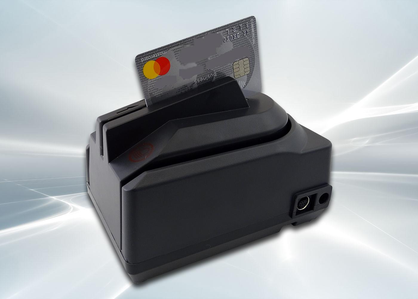 Lecteur de chèques CMC7 avec lecteur de cartes – Lecture de carte bancaire