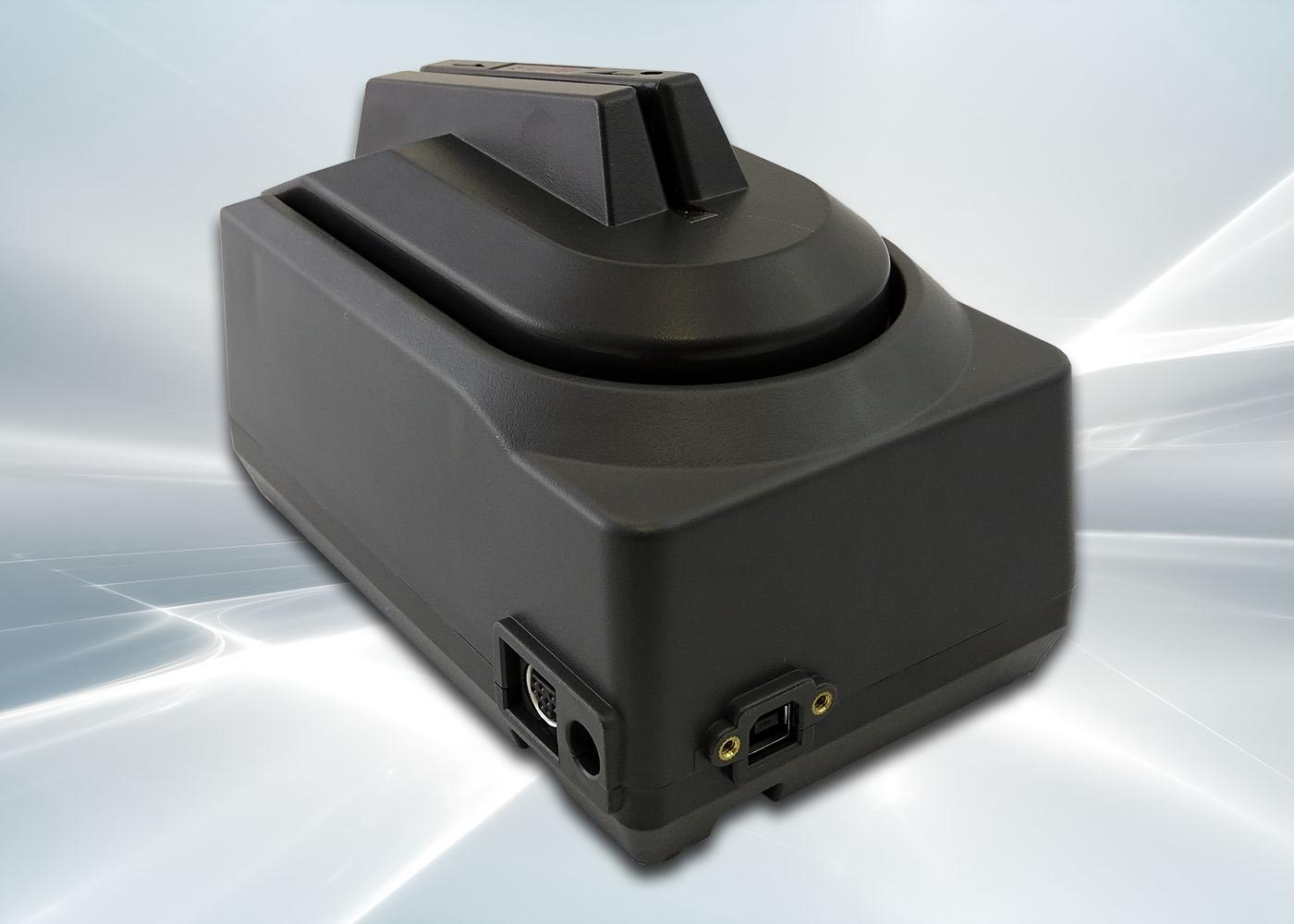 Lecteur de chèques CMC7 avec lecteur de cartes – Prise USB verrouillable