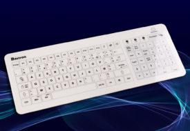 Bastron® : le clavier tactile capacitif en verre USB, RF 2,4 Ghz et Bluetooth®