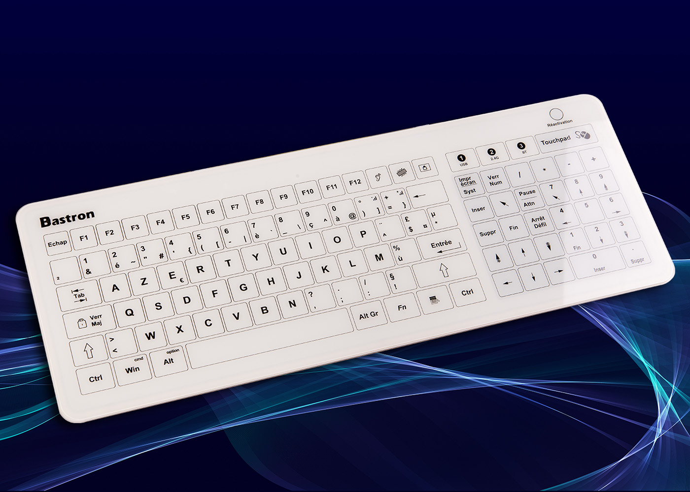 Clavier tactile B45