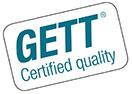 Logo GETT Certified Quality