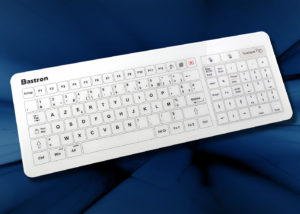 B45 clavier tactile filaire avec touchpad