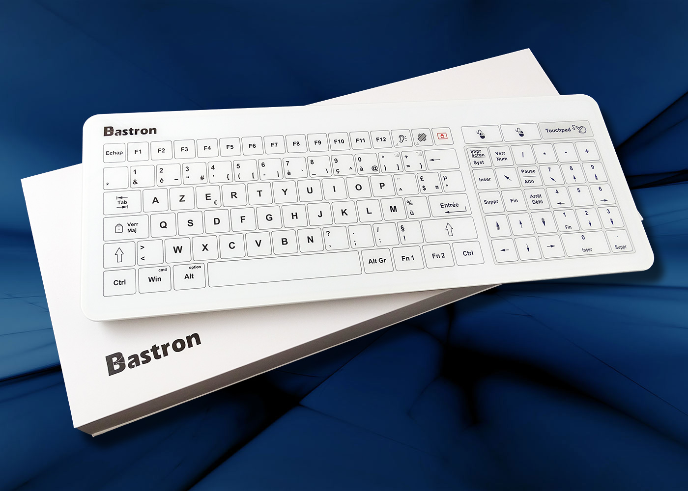 B45 clavier tactile filaire avec touchpad – Emballage