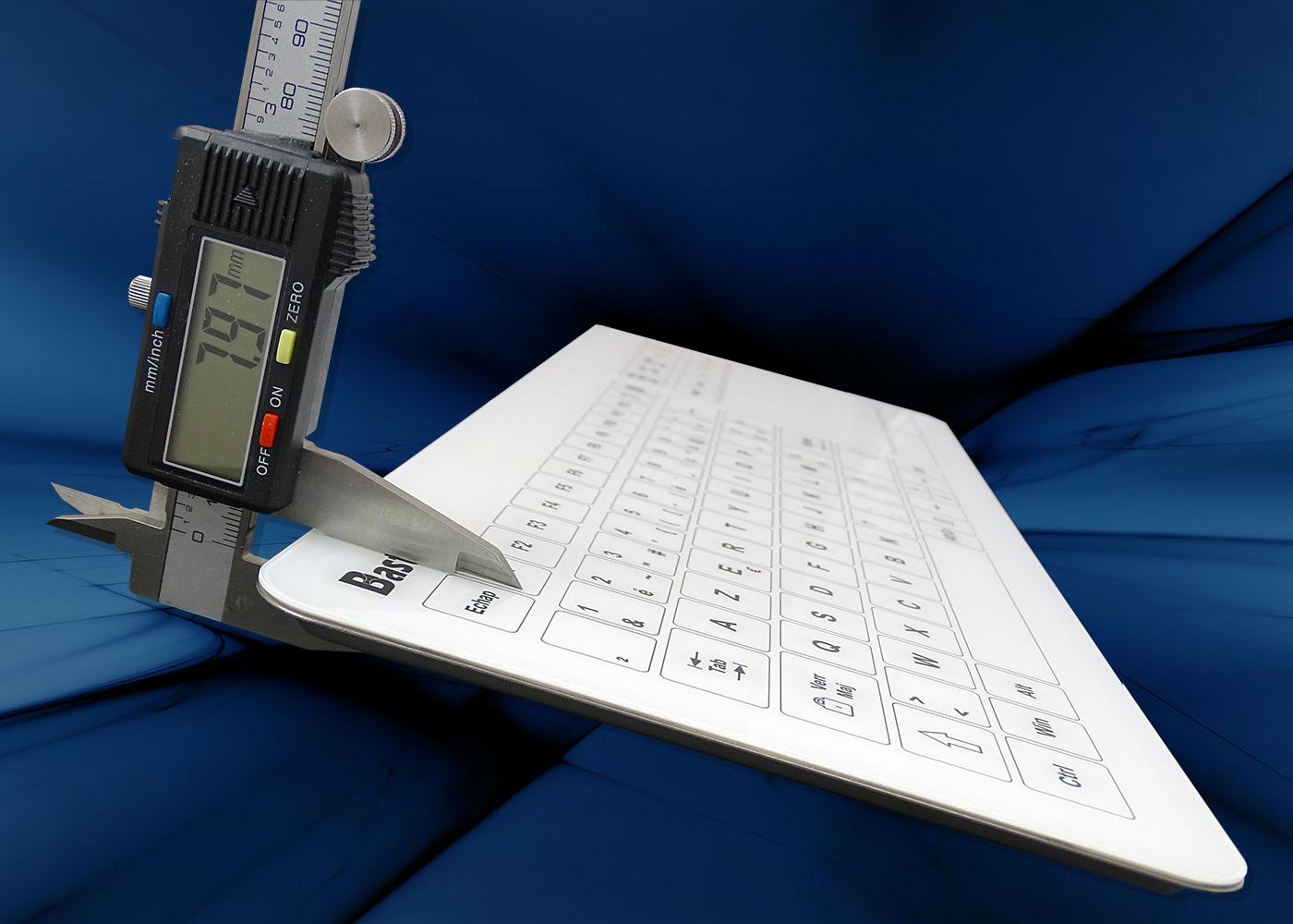 B50-90T Clavier tactile antistatique – Seulement 8 mm d'épaisseur