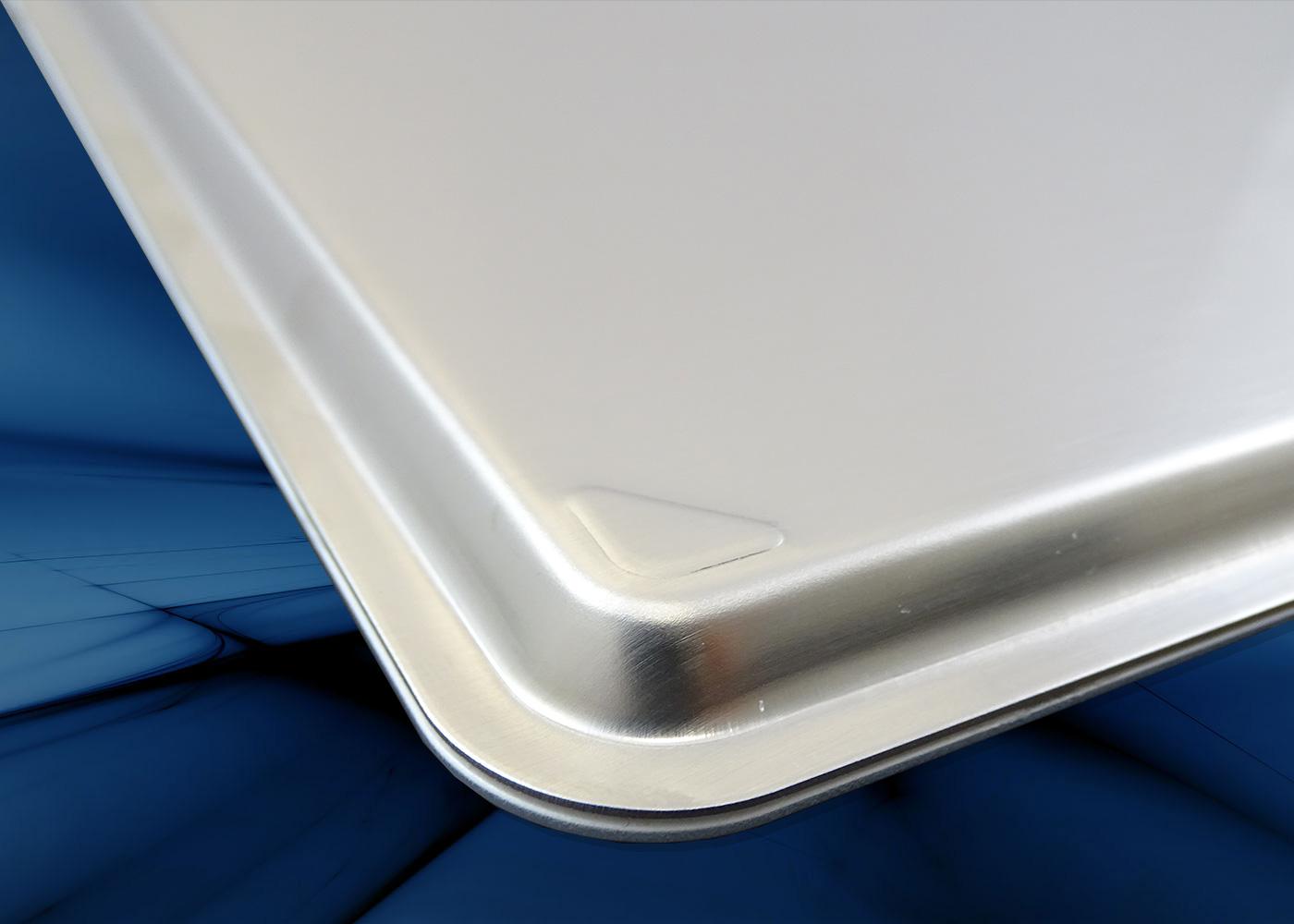 B50-90T Clavier tactile antistatique – fond inox scellé sur verre