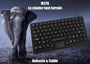 M276 - Le calvier compact à toute épreuve