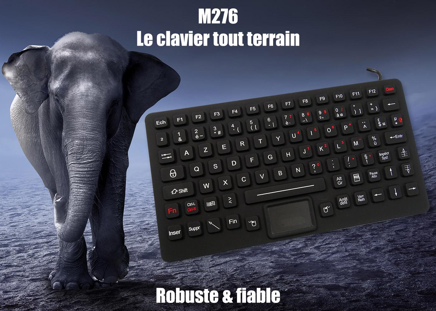 M276 – Le calvier compact à toute épreuve