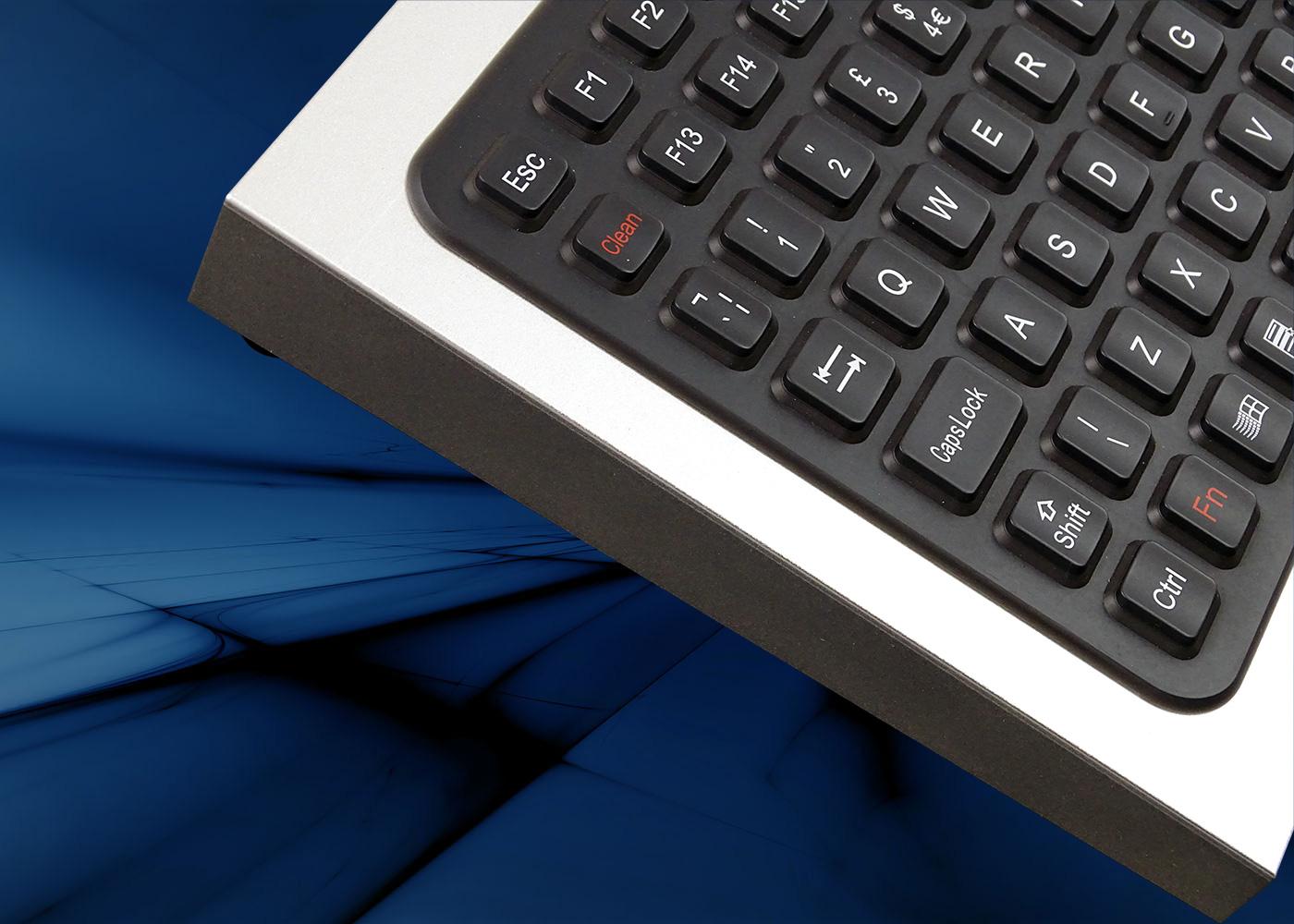 Clavier industriel M376KP-FN-DT – Clean touche de verrouillage clavier