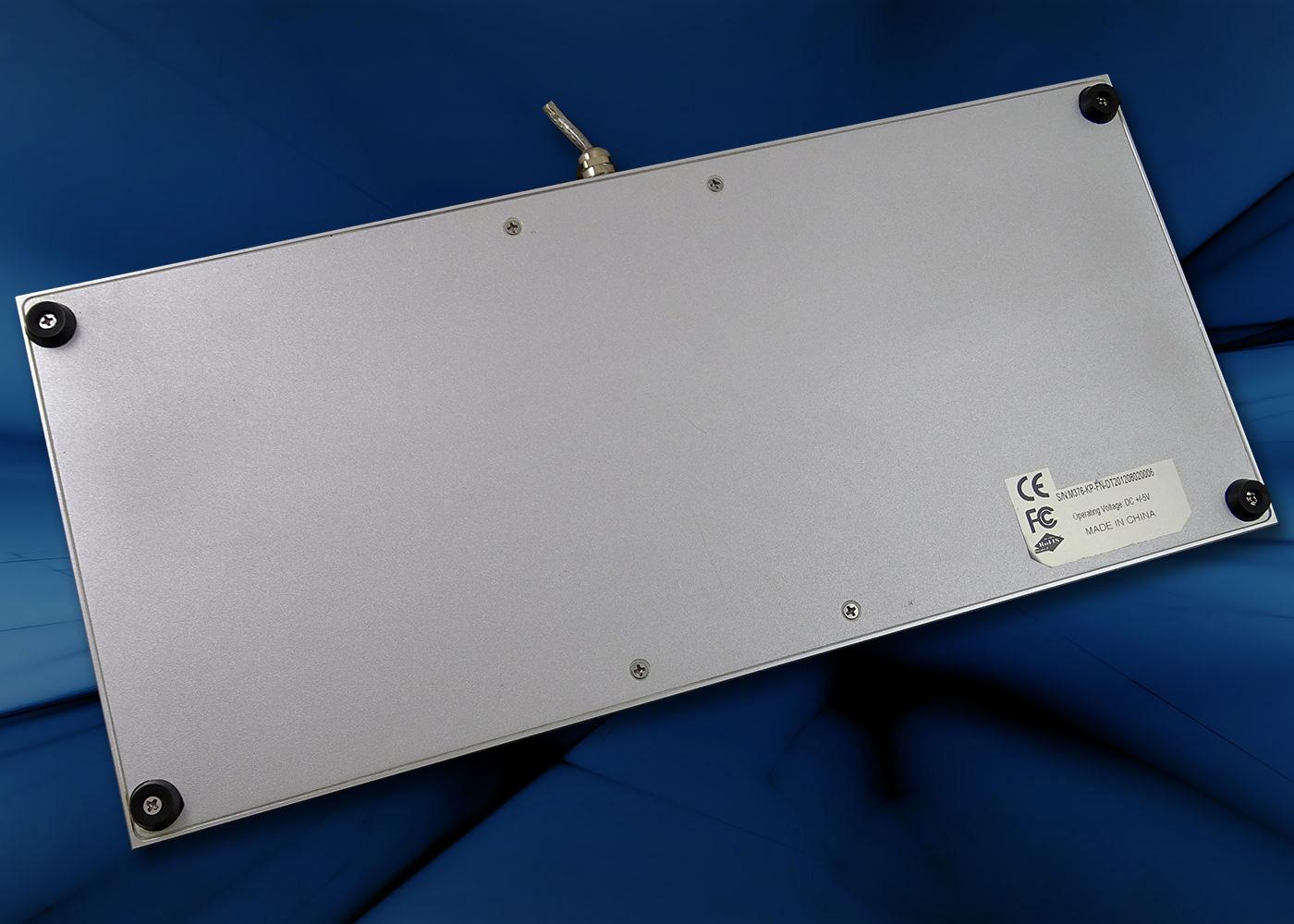 Clavier industriel M376KP-FN-DT – Dessous