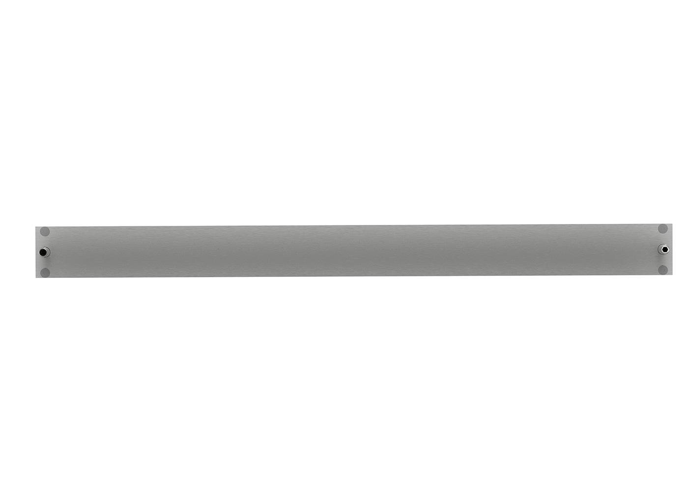 Bastron® B96 – Clavier tactile en tablette inox rabattable – Vue arrière