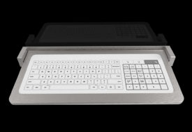 Bastron® B96 – Clavier tactile en tablette rabattable