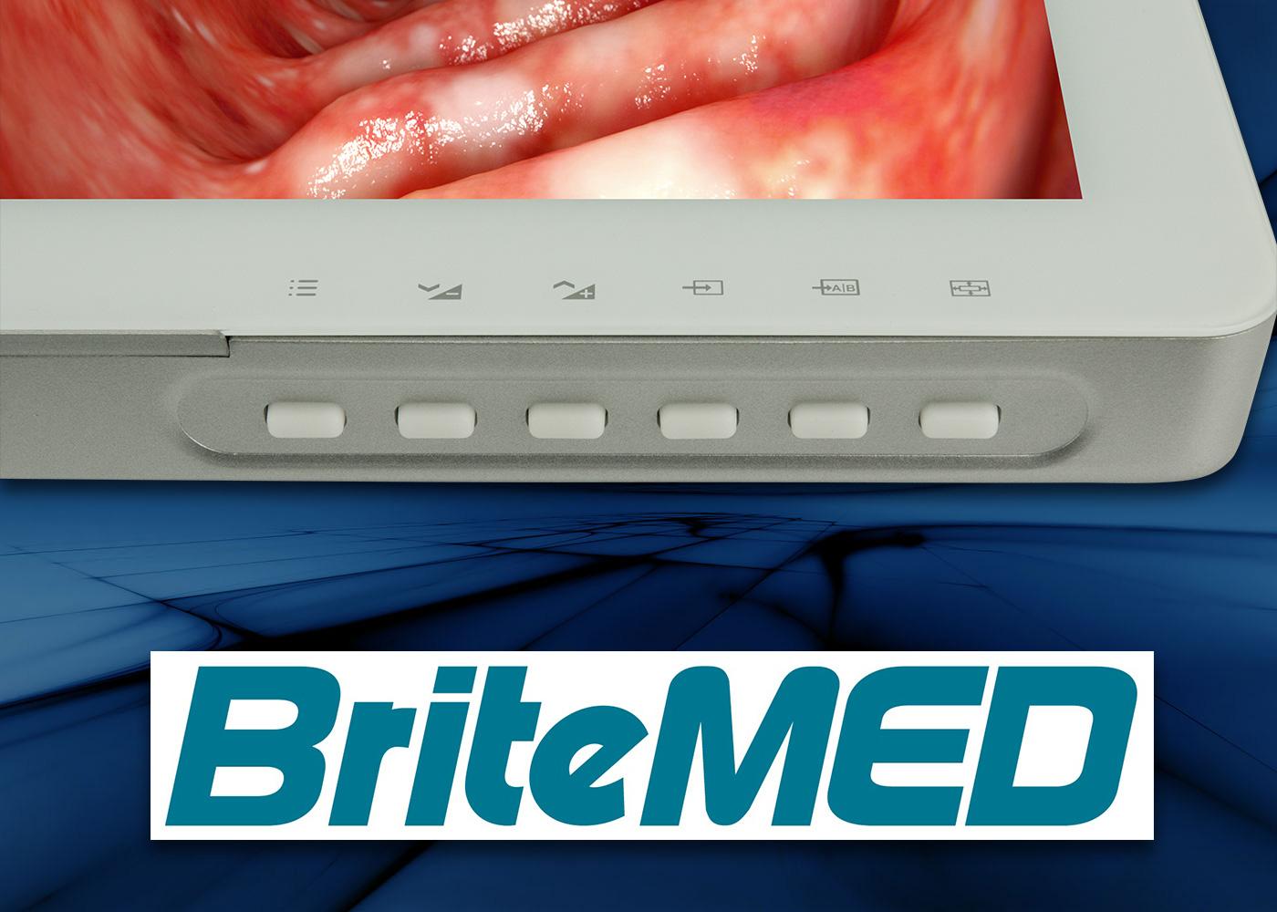 Ecran médical 27″ BriteMED® – Détail des boutons