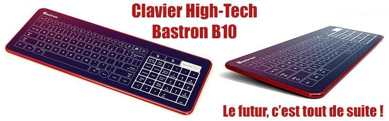 Actualité : Clavier Bastron B10 RED BOX
