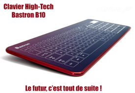 Clavier tactile High-Tech Bastron® B10