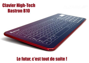 Clavier tactile Bastron B10 - Ultra mince 7 mm seulement