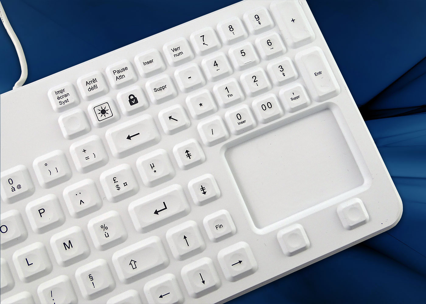 CleanType® Prime Touch – Touchpad siliconé