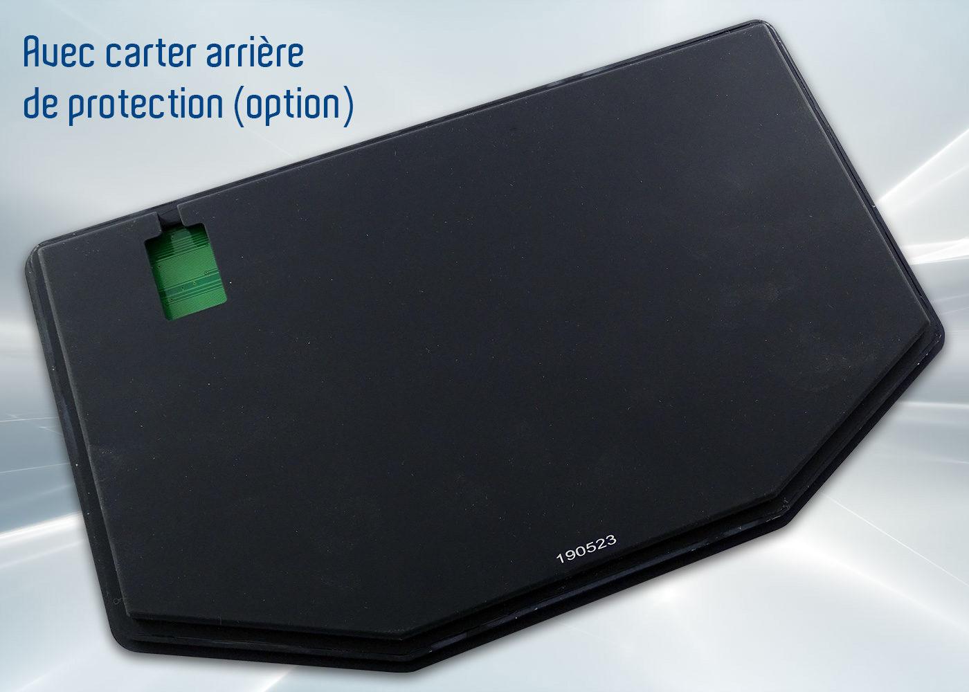 Clavier InduBoard 253 – avec carter arrière (en option)