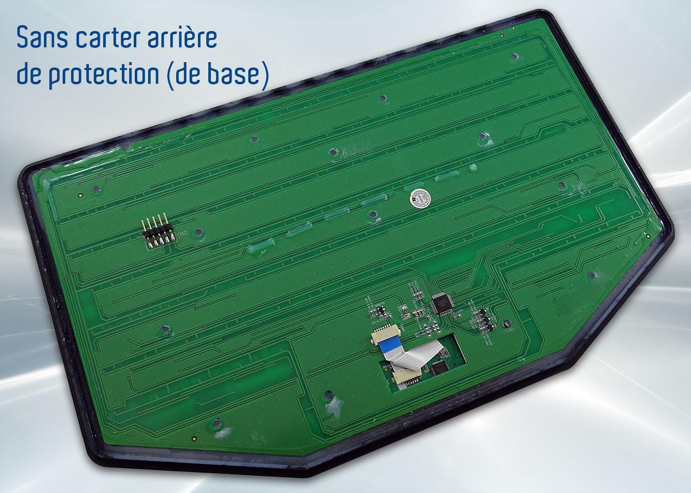Clavier InduBoard 253 – sans carter arrière (en standard)